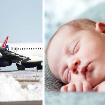 A Baby Was Born Mid-Flight, and the Airline's Response Will THRILL You