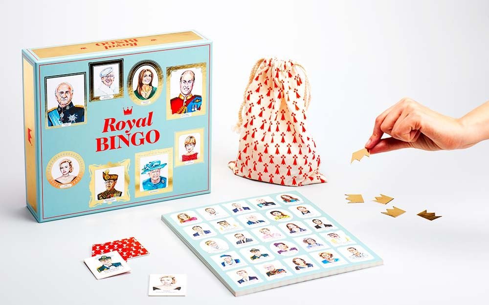 Stop Everything: Royal Family-Themed Bingo Has Arrived!