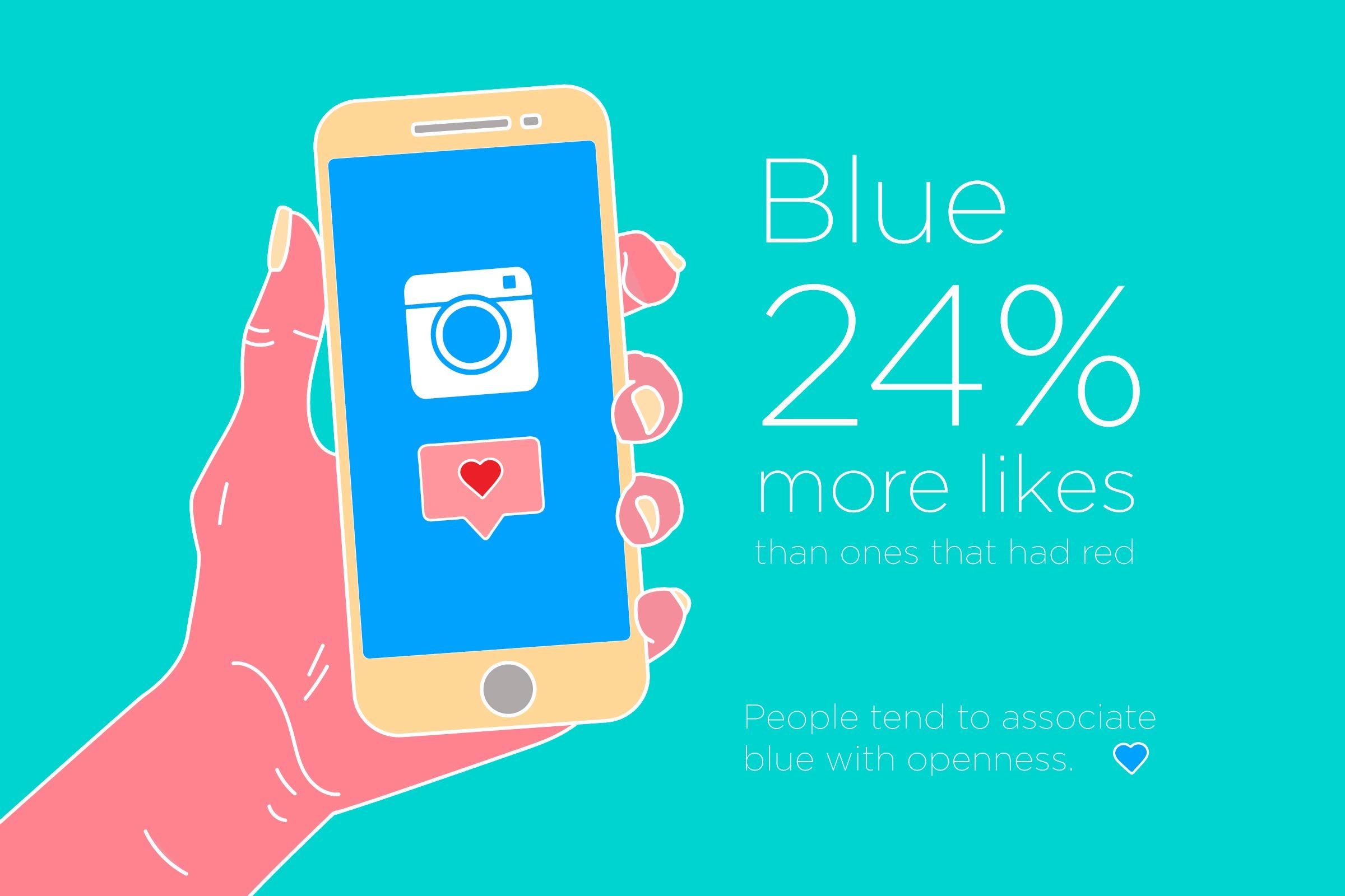 want more likes on instagram get this color - Picture Color