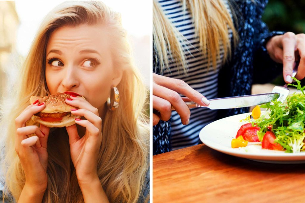 Can you lose weight eating junk food