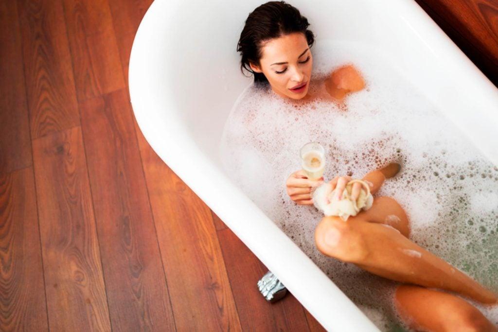 Baths burn calories why taking a bath is just as good as for Bathroom 94 percent