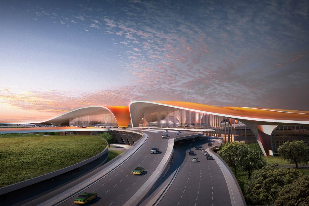 03-Take-a-Sneak-Peek-Inside-the-Biggest-Airport-in-the-World-Render-Courtesy-Methanoia-©-Zaha-Hadid-Architects