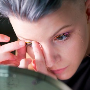 This New Fake Eyelash Trend Will Literally Make Your Eyes Sparkle