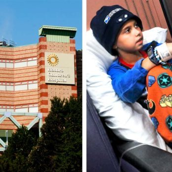 An Entire City Follows the Sweetest Nightly Ritual to Cheer Up Sick Kids in Local Hospital