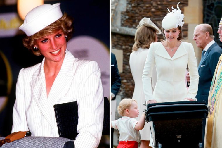 06-Times-Kate-Middleton-and-Princess-Diana-Basically-Wore-the-Same-Outfit-shutterstock