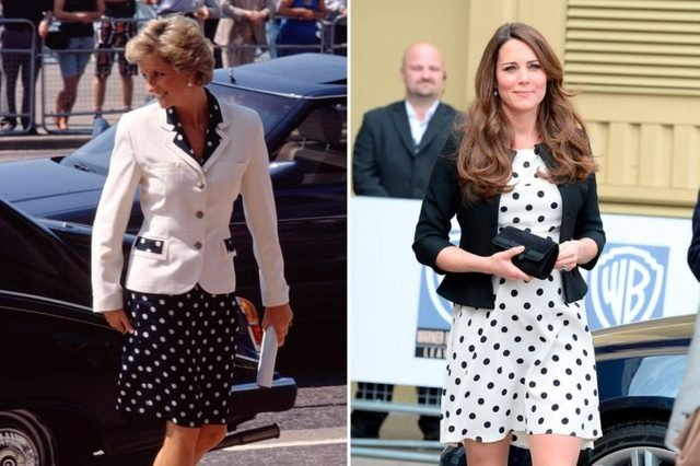 10-Times-Kate-Middleton-and-Princess-Diana-Basically-Wore-the-Same-Outfit-shutterstock