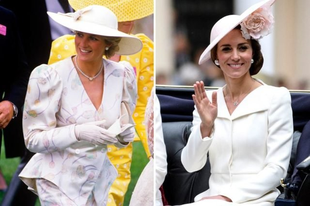 14-Times-Kate-Middleton-and-Princess-Diana-Basically-Wore-the-Same-Outfit-shutterstock