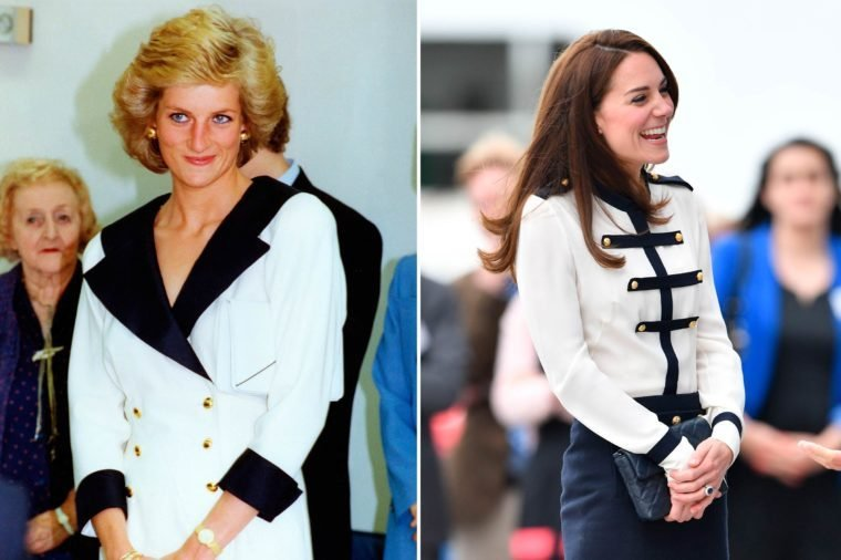 16-Times-Kate-Middleton-and-Princess-Diana-Basically-Wore-the-Same-Outfit-shutterstock