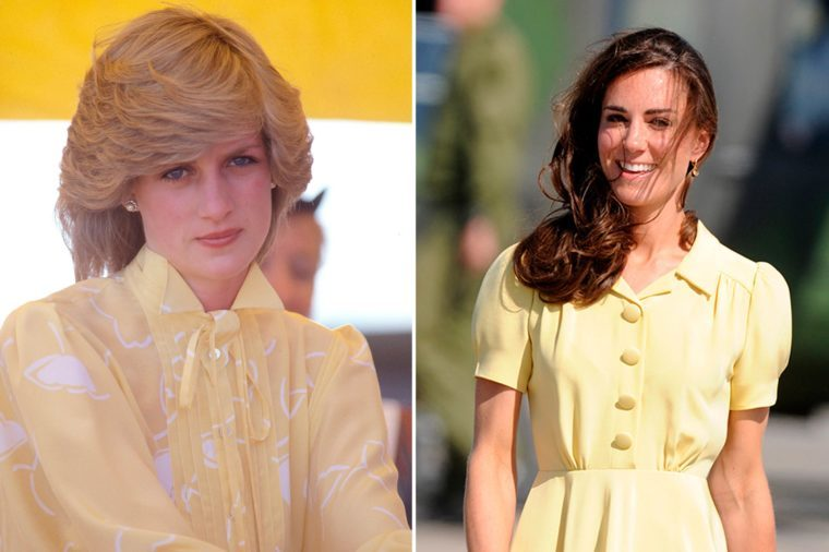 17-Times-Kate-Middleton-and-Princess-Diana-Basically-Wore-the-Same-Outfit-shutterstock