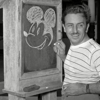 The Mysterious Note Walt Disney Left Behind Before He Died