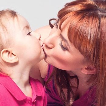 Why It's OK for Parents to Kiss Their Kids on the Lips