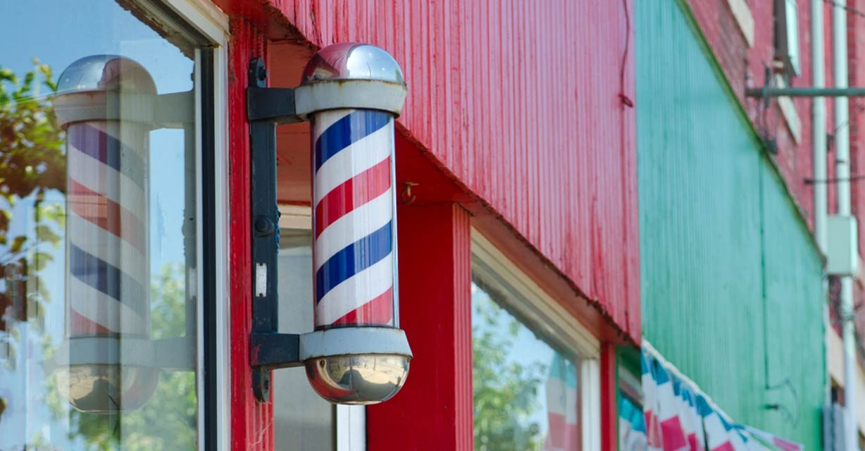 No, Barber Poles Aren't Patriotic—the Real Meaning Behind Them Will Make You Cringe