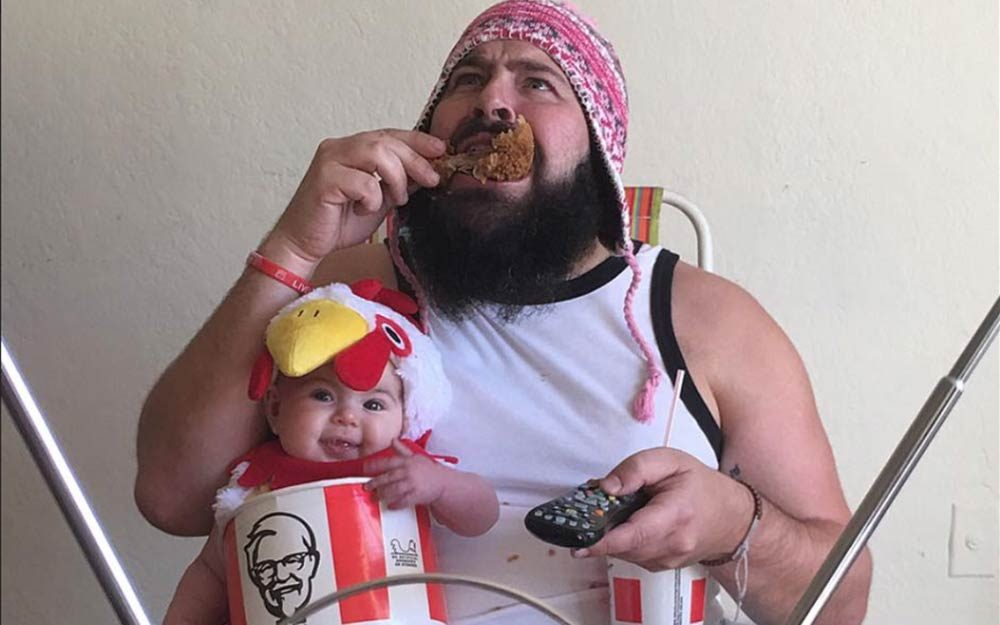 Dad and Baby Pose in Hilarious Costumes for Cutest Pictures Ever | Readeru0027s Digest  sc 1 st  Readeru0027s Digest & Dad and Baby Pose in Hilarious Costumes for Cutest Pictures Ever ...