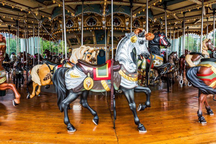 Carousel in Brooklyn Bridge Park