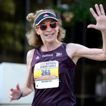 How This 70-Year-Old Marathon Runner Stays Just as Fit as She Was at 20