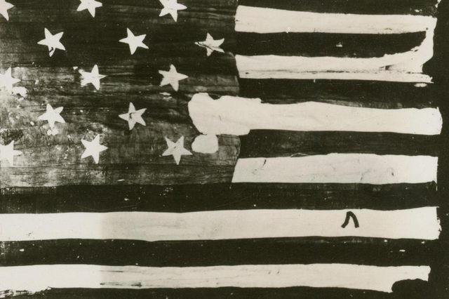 The American Flag of Mary Young Pickersgill (1776û1857) - Hoisted Over Fort Mchenry During the Battle of Baltimore in the War of 1812 and the Inspiration Behind the Flag Mentionedin the American National Anthem the Flag Was Huge (30ft by 42ft) On Display at Flag House Baltimore Maryland 1812