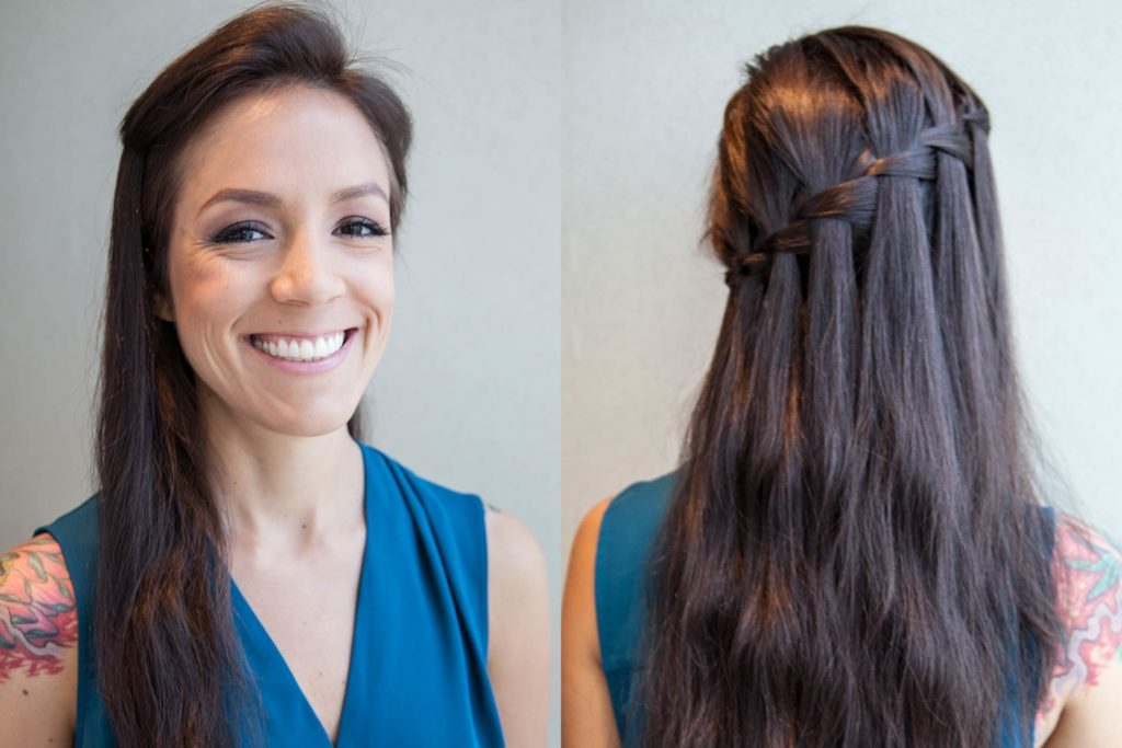 How To Do A Waterfall Braid Step By Step Instructions Readers Digest