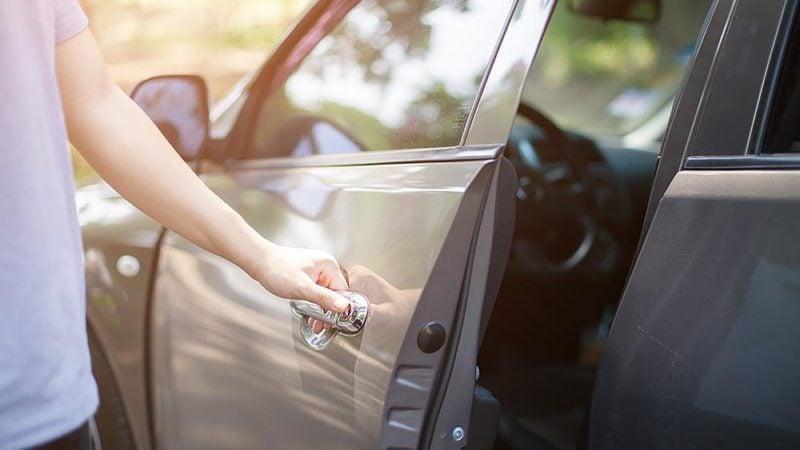 locked keys in car
