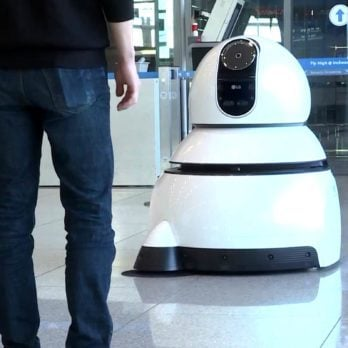 In This Country's Airport, Robots Greet You at the Gate