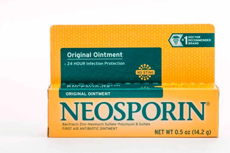 05-neosporin-Products it's never safe to use on your body_653465743-Terry-Putman