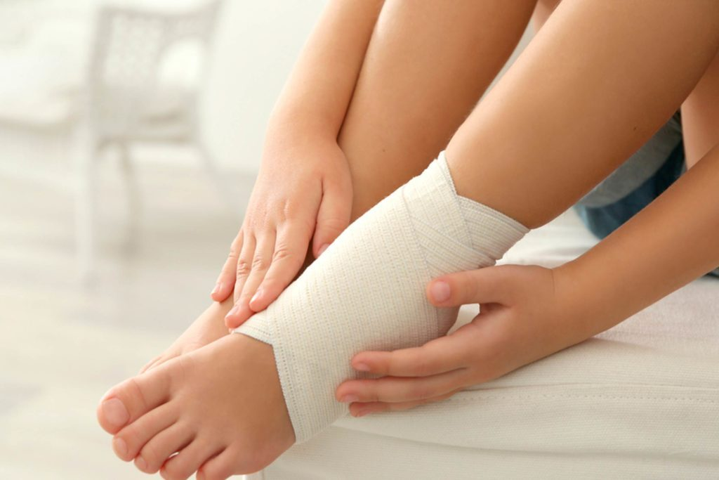 sprained ankle first aid steps what you should do first reader s