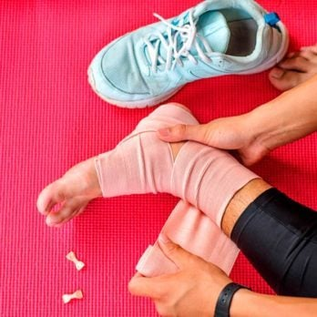 6 First Aid Steps to Take Immediately If You Have a Sprained Ankle