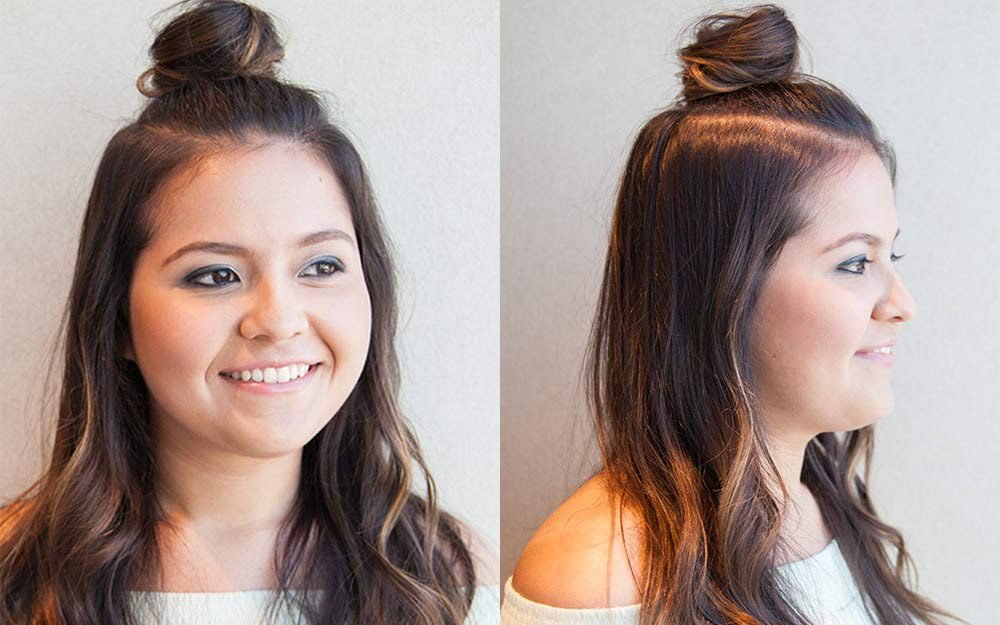 How to Do a Half-Up Top Knot: A Step-by-Step Guide | Reader's Digest