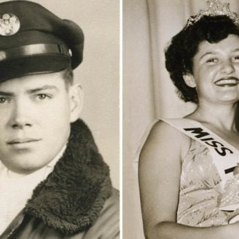 I Wrote Letters to 3 Beauty Contest Winners in the '40s—64 Years Later, I'm Still Happily Married to One