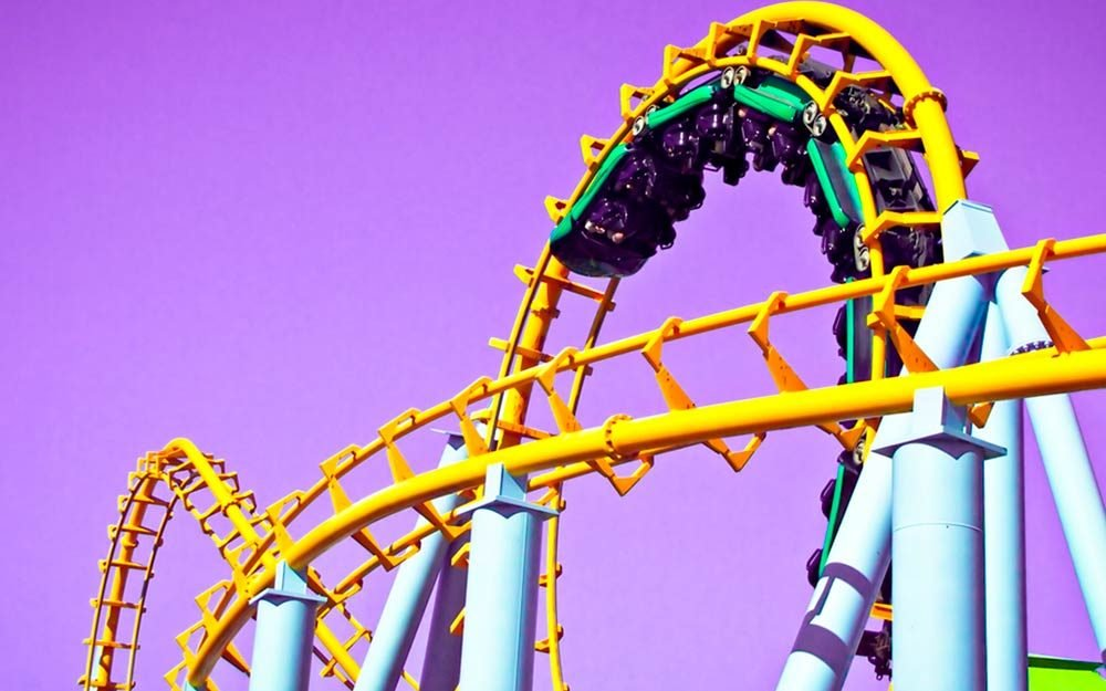 the first american roller coaster carried coal  not people