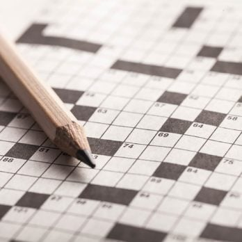 The Science Is In: Crossword Puzzles Can Literally Make Your Brain Younger