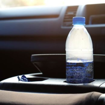 This Is Why You Should Never, Ever Leave a Water Bottle in a Hot Car