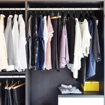 This Is How You Should Be Storing Off-Season Clothes (No Bulky Bins Necessary)