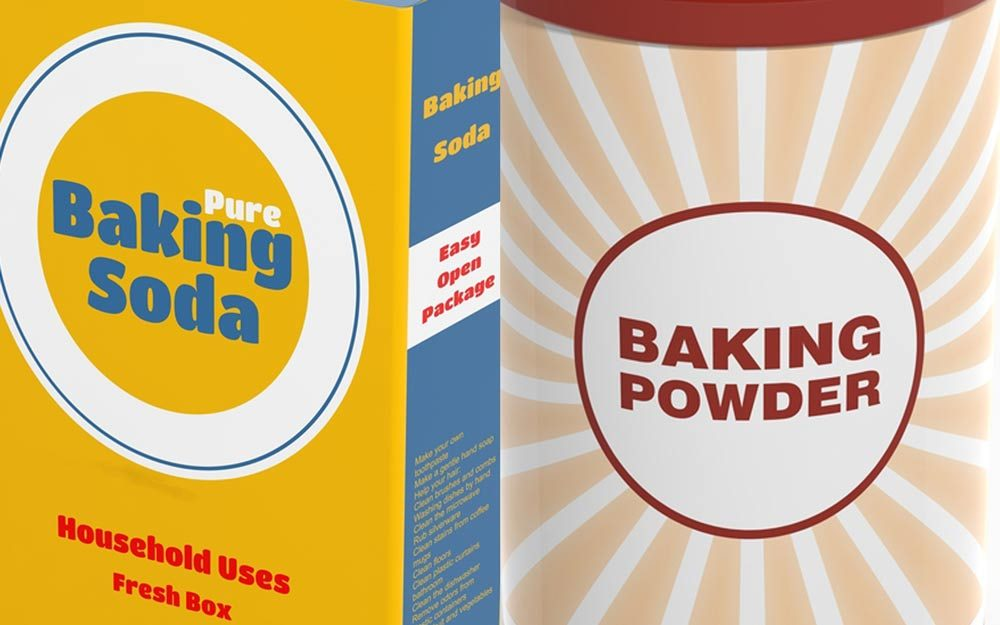 This Is the Real Difference Between Baking Soda and Baking Powder