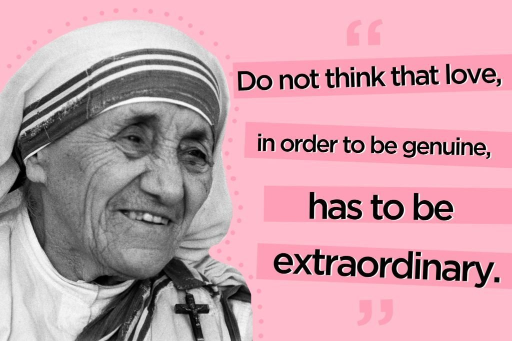 12 Mother Teresa Quotes To Live By Readers Digest
