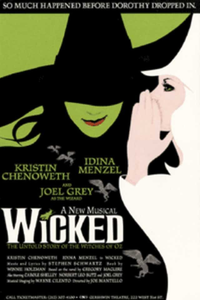 01-wicked-Hidden Lessons from Our Favorite Broadway Shows-via broadwayposters.com