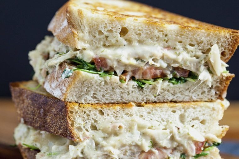 Delicious Dishes You Didn't Know You Could Make with Jackfruit03--Tuna-Melt-Sandwich-Courtesy-Keepin'-it-Kind