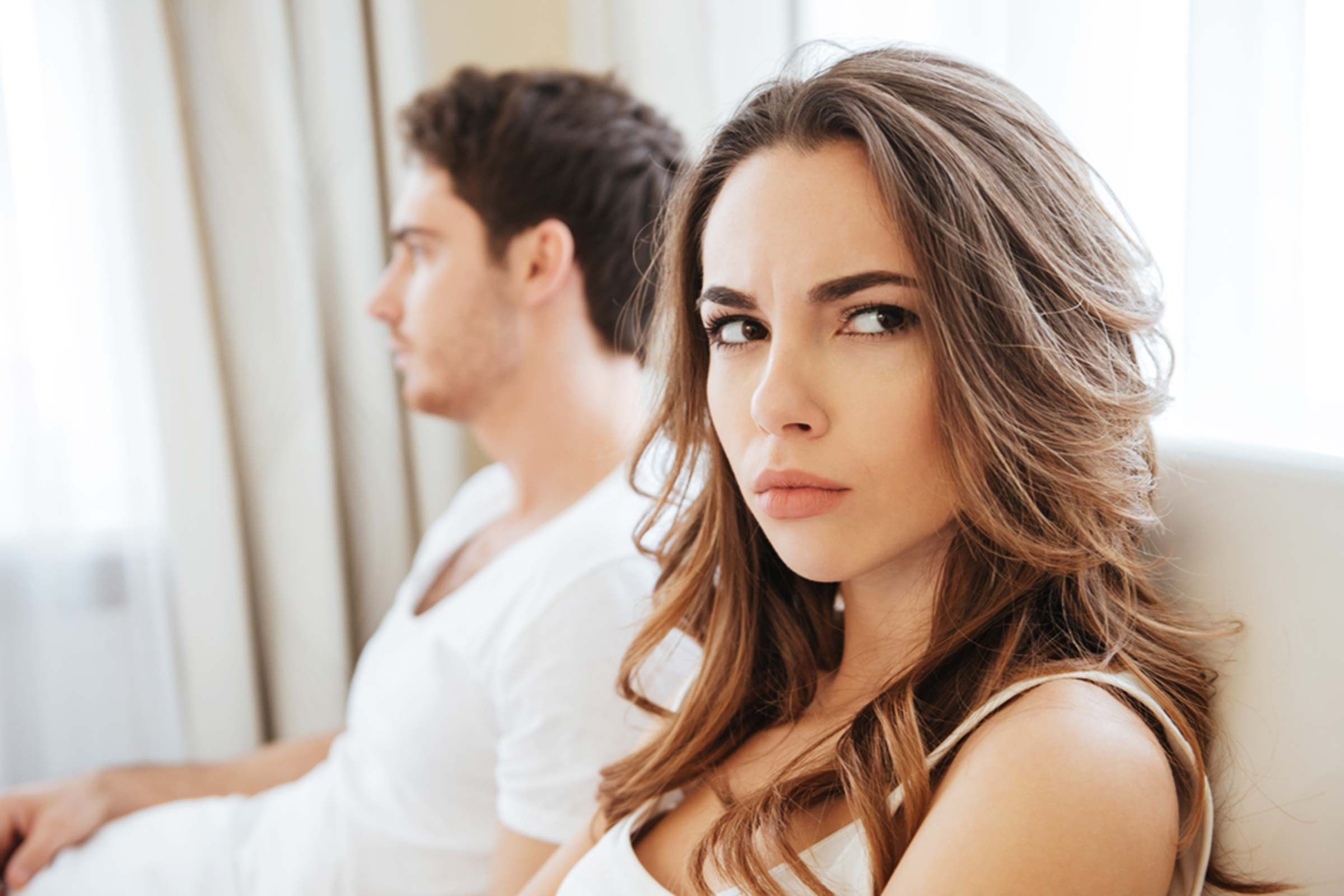 why does wife avoid intimacy