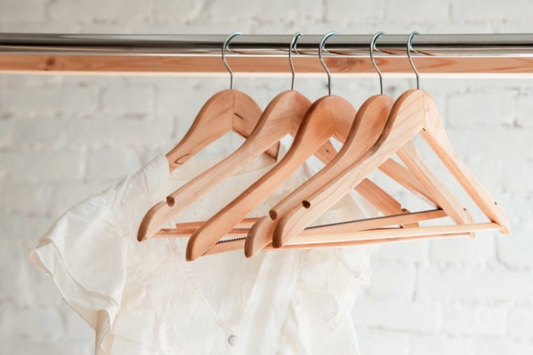 06-hangers-Biggest Closet Organizing Mistakes and Super-Easy Fixes_614539055-Iryna-Pospikh