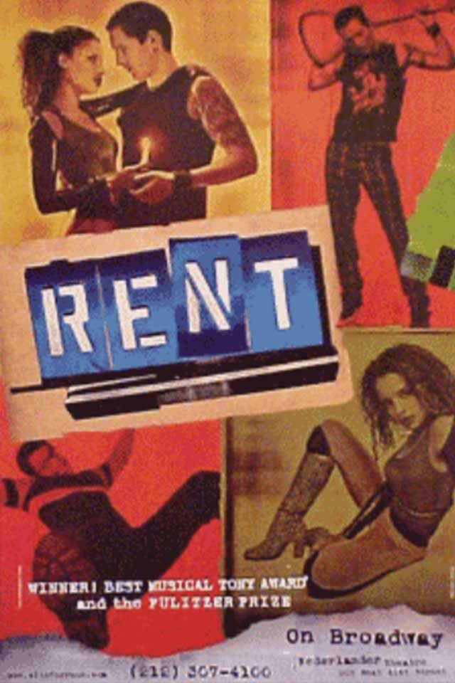 06-rent-Hidden Lessons from Our Favorite Broadway Shows-via broadwayposters.com