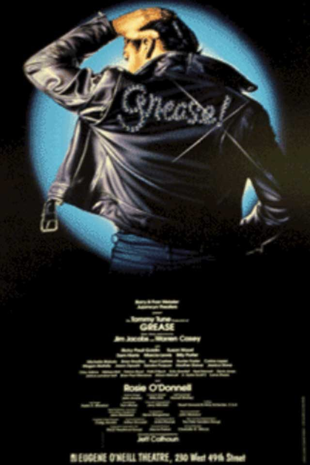 07-grease-Hidden Lessons from Our Favorite Broadway Shows-via broadwayposters.com