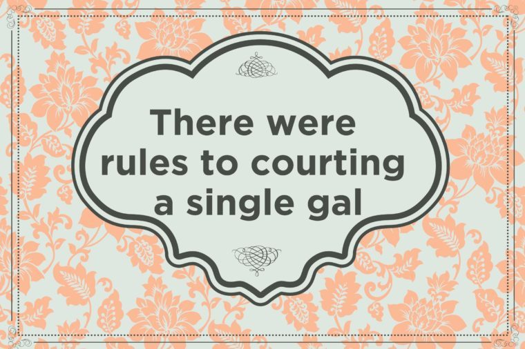 victorian courtship rules