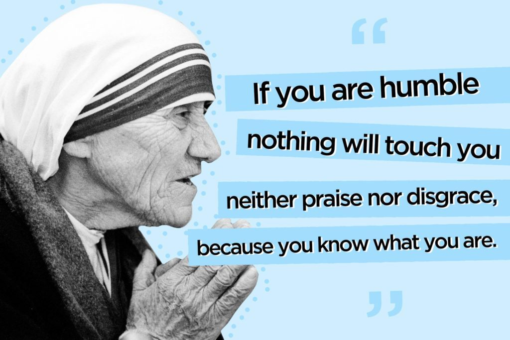 Mother Teresa Quotes 12 Mother Teresa Quotes to Live By | Reader's Digest Mother Teresa Quotes