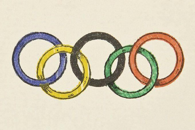 1913 Olympic Rings
