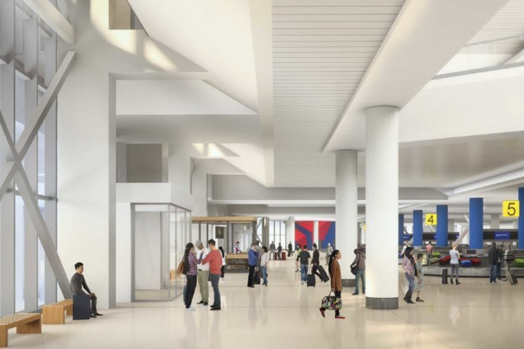 The-Worst-Airport-in-America-Is-Getting-an-$8-Billion-Makeover Courtesy Delta