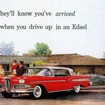60 Years Ago Ford Introduced the Edsel—Here's What Its Original Ad Looked Like