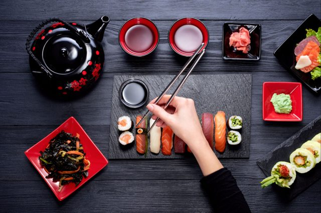Attention Sushi Lovers There Are Rules About Eating Japanese Food That You Must Follow_547395394