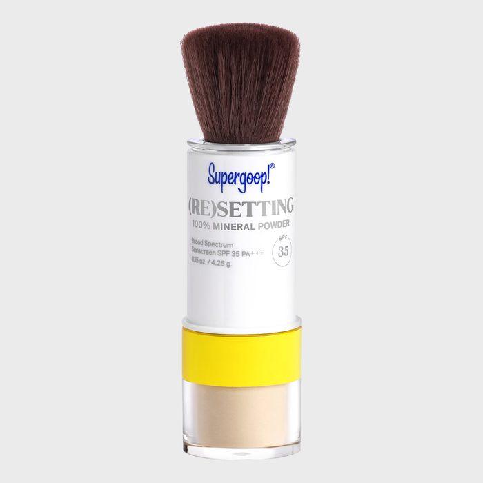 Supergoop Resetting 100 Percent Mineral Powder Spf 35