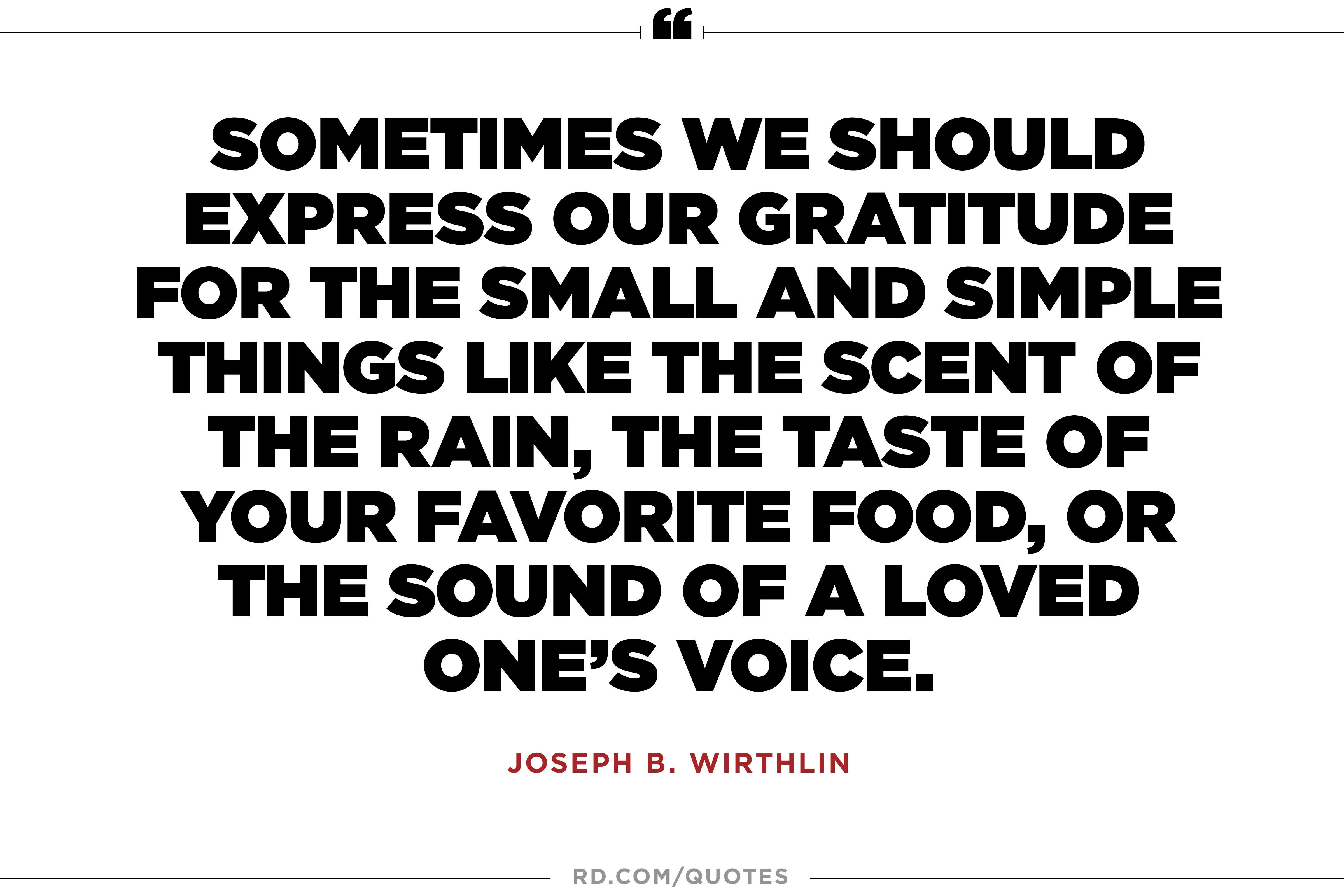 Gratitude Quotes To Inspire Gratitude Every Single Day Readers Digest