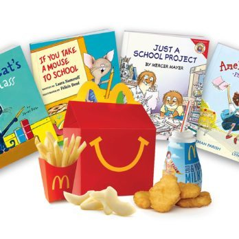 You Can Now Get Free Books in Your Next Happy Meal