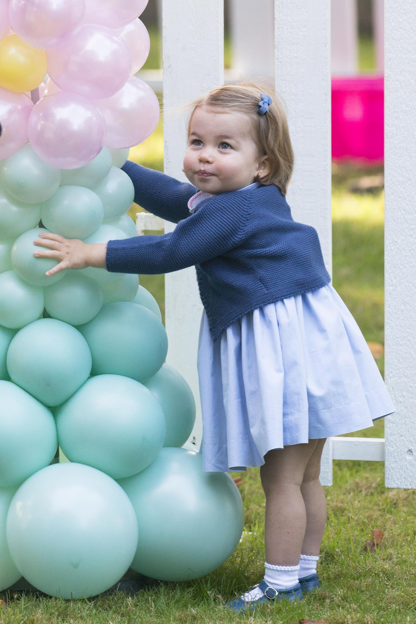 princess charlotte balloons
